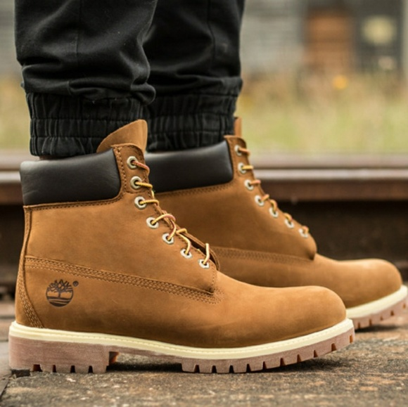 Timberland Shoes | Premium Waterproof Rust Nubuck Boots